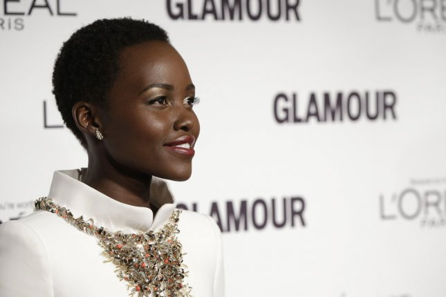 Lupita Nyong'o arrives on the red carpet at the Glamour 2014 Women Of The Year Awards at Carnegie Hall in New York City on November 10, 2014. UPI/John Angelillo
