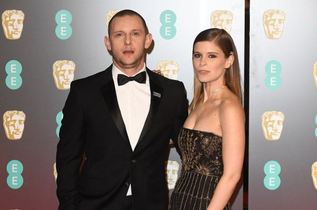 Actor Jamie Bell and his wife, actress Kate Mara, have welcomed their first child. File Photo by Paul Treadway/UPI