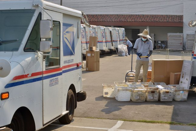Federal Judge Emmet Sullivan of Washington, D.C. on Thursday ordered the U.S. Postal Service to conduct two daily sweeps of its facilities for mail-in ballots in states where they can be legally delivered and counted.File Photo by Jim Ruymen/UPI