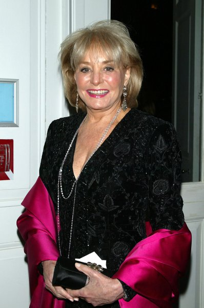 Barbara Walters arrives at the Queen Sofia Spanish Institute 2007 Gold Medal Gala at 583 Park Avenue in New York on November 29, 2007. (UPI Photo/Laura Cavanaugh)