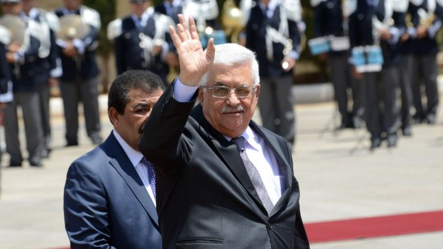 Palestinian President Mahmoud Abbas will be the second Arab leader to visit Egypt since Mori's ouster. UPI/Debbie Hill