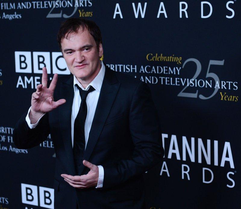 Quentin Tarantino in Beverly Hills, Calif., Nov. 7, 2012. UPI/Jim Ruymen