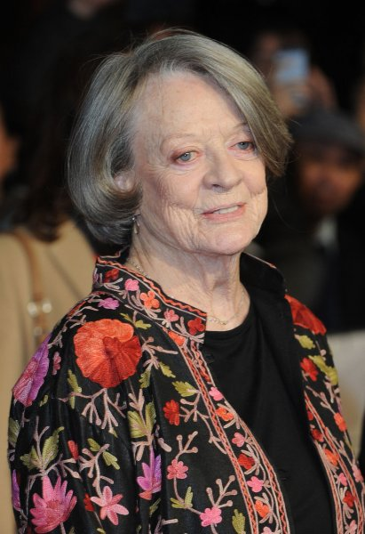 Maggie Smith at the BFI London Film Festival screening of The Lady in the Van on October 13, 2015. File Photo by Paul Treadway/UPI