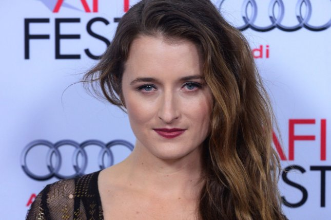 Cast member Grace Gummer attends the premiere of the motion picture western drama The Homesman as part of AFI Fest in Los Angeles on November 11, 2014. File Photo by Jim Ruymen/UPI