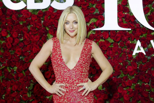 Jane Krakowski arrives on the red carpet at the 70th Annual Tony Awards at the Beacon Theatre on June 12, 2016 in New York City. The actress will help announce nominations for the 71st Tony Awards on May 2. File Photo by John Angelillo/UPI