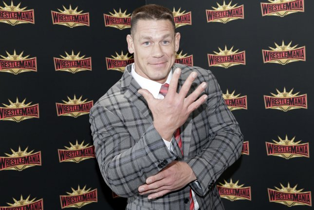 WWE Superstar John Cena. WWE will be holding a special WrestleMania week of programming on USA. File Photo by John Angelillo/UPI
