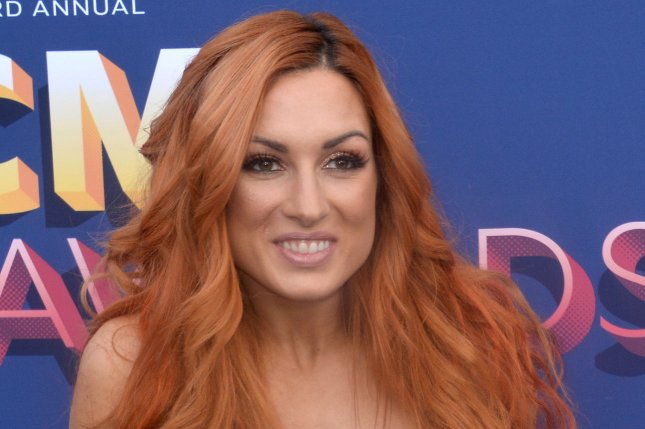 WWE star Becky Lynch got into a war of words with Ronda Rousey on social media. File Photo by Jim Ruymen/UPI