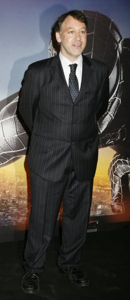 Director Sam Raimi arrives for the French premiere of Spider-Man 3 at Grand Rex Theatre in Paris on April 27, 2007. (UPI Photo/David Silpa)