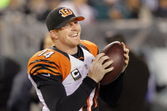 Cincinnati Bengals quarterback Andy Dalton. File photo Laurence Kesterson/UPI