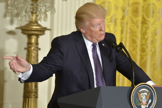 President Donald Trump on Thursday signed a bill into law that eliminates a rule established under former President Barack Obama that banned states from blocking funding to abortion providers through the Title X federal grant. Photo by Mike Theiler/UPI