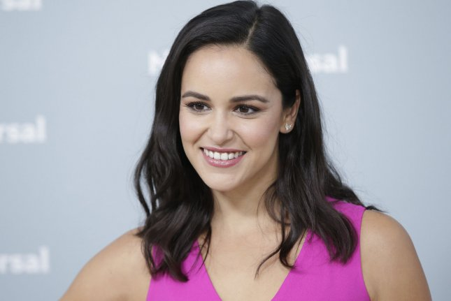 Melissa Fumero attends the NBCUniversal upfront on May 14. File Photo by John Angelillo/UPI