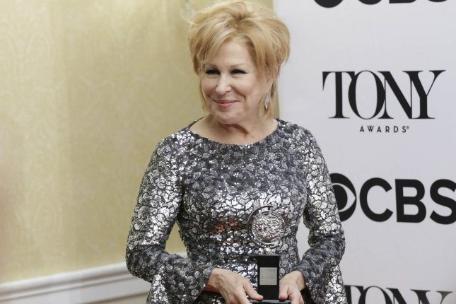 Singer and actress Bette Midler has been booked to perform at the Oscars ceremony on Feb. 24. File photo by John Angelillo/UPI