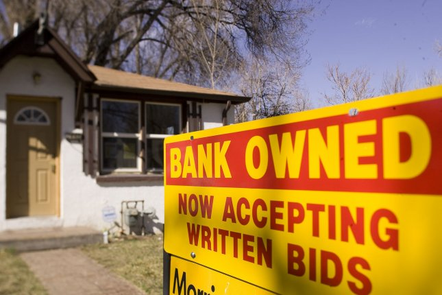 Almost 3 million U.S. homeowners are in forbearance related to the pandemic and 11 million have federal government-backed mortgages. File Photo by Gary C. Caskey/UPI