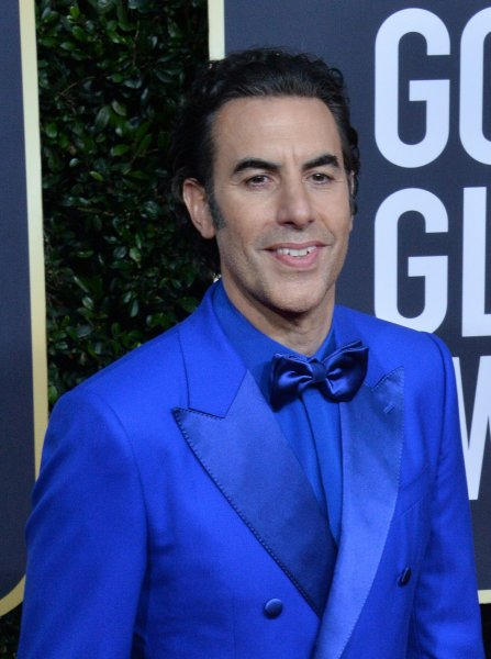 Sacha Baron Cohen was honored with the Comedic Genius Award at the 2021 MTV Movie & TV Awards. File Photo by Jim Ruymen/UPI