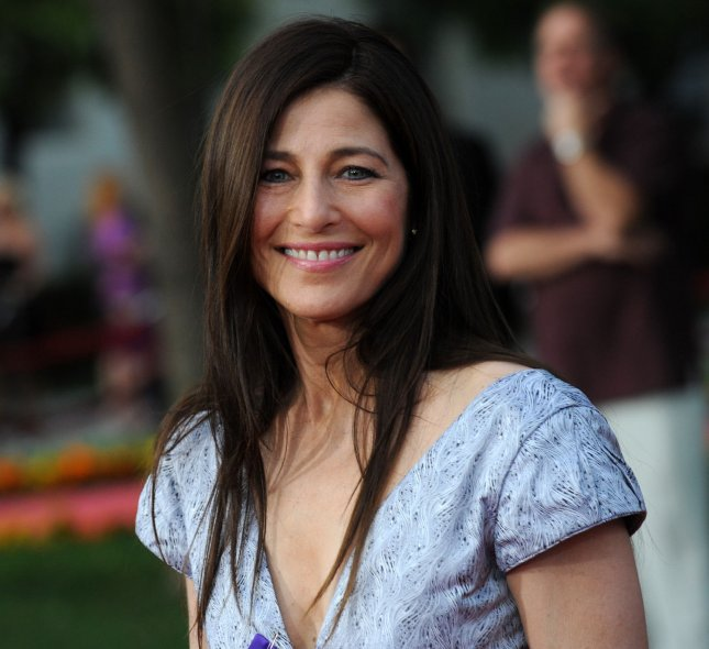Catherine Keener, a cast member in the motion picture biographical drama The Soloist, attends the premiere of the film on the Paramount Studios lot in Los Angeles on April 20, 2009. (UPI Photo/Jim Ruymen)