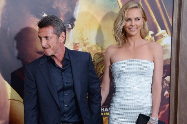 Cast member Charlize Theron and actor Sean Penn attend the premiere of the motion picture thriller Mad Max: Fury Road at TCL Chinese Theatre in the Hollywood section of Los Angeles on May 7, 2015. The two reportedly split mid-June. Photo by Jim Ruymen/UPI