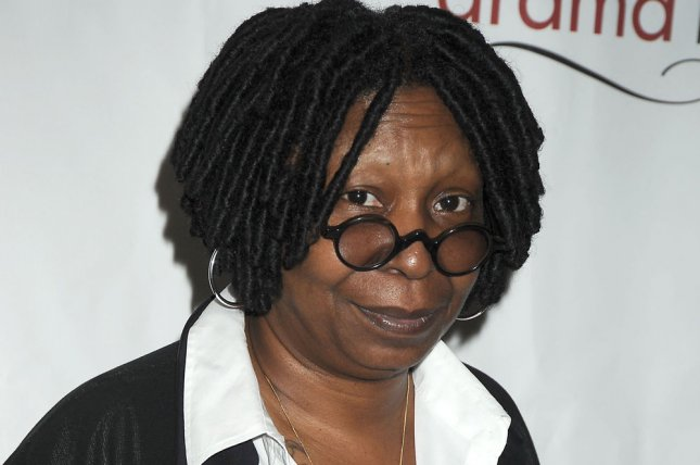 Whoopi Goldberg arrives for the Drama League Awards Ceremony and Luncheon on May 20, 2011. On the latest episode of The View, Goldberg spoke out against the current boycott and diversity controversy surrounding the Oscars. File Photo by Robin Platzer/UPI