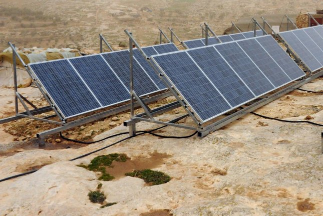 The momentum for solar power development in the United States is strong enough that it's relatively free from partisan issues in Washington, the head of a trade group said. File photo by Debbie Hill/UPI