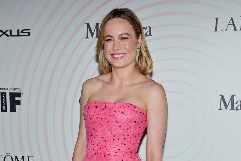 Brie Larson stars in the new trailer for Captain Marvel, alongside Samuel L. Jackson. File Photo by Chris Chew/UPI