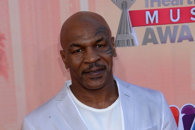 Mike Tyson is calling for a boycott of Hulu after the streaming service announced its plans for an eight-part mini-series based on his life. File Photo by Jim Ruymen/UPI