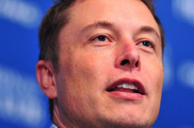 Tesla CEO Elon Musk sees a future with no drivers. UPI/Kevin Dietsch