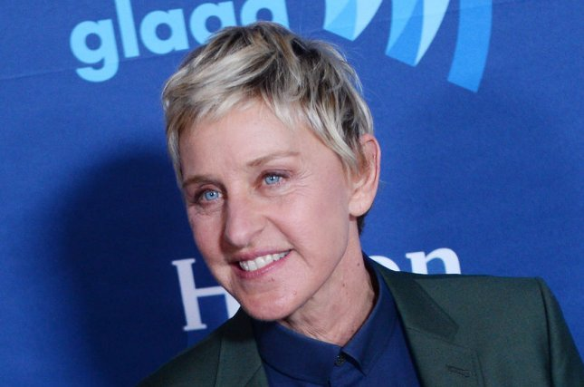 Ellen DeGeneres at the GLAAD Media Awards in March. The television personality returns to voice Dory in 'Finding Dory.' File Photo by Jim Ruymen/UPI