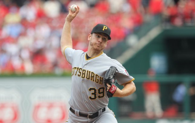 Chad Kuhl and the Pittsburgh Pirates take on the New York Mets on Tuesday. Photo by Bill Greenblatt/UPI