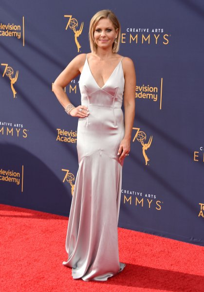 Candace Cameron Bure attends the Creative Arts Emmy Awards at the Microsoft Theater in Los Angeles on September 8, 2018. The actor turns 44 on April 6. File Photo by Gregg DeGuire/UPI