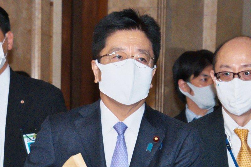 Japan's chief cabinet secretary, Katsunobu Kato, said during a press briefing Tuesday that Tokyo will not tolerate a nuclear North Korea. File Photo by Keizo Mori/UPI