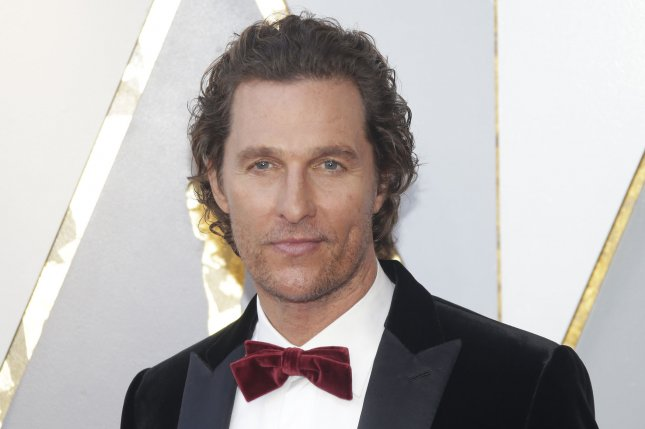 Matthew McConaughey addressed reports that he will run for governor of Texas during an appearance on The Ellen DeGeneres Show. File Photo by John Angelillo/UPI