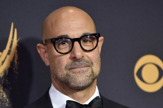 Stanley Tucci voices Bitsy Brandenham on the Apple TV+ series Central Park. File Photo by Christine Chew/UPI