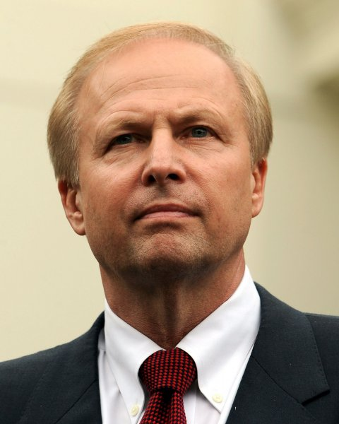 BP Managing Director Bob Dudley, seen in the June 16, 2010 file photo after a meeting at the White House in Washington, will take over from BP CEO Tony Hayward on October 1 the company announced on July 27, 2010. UPI/Roger L. Wollenberg/FILE