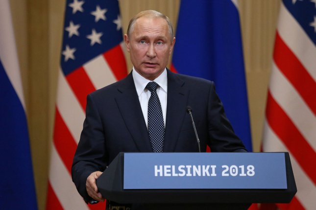 Russian President Vladimir Putin and his defense ministry have both said they're open to extending the New START Treaty with the United States. Photo by David Silpa/UPI