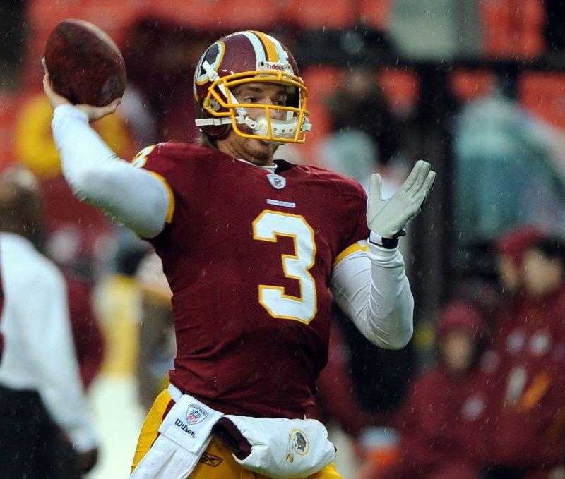 Washington to start Beck at quarterback