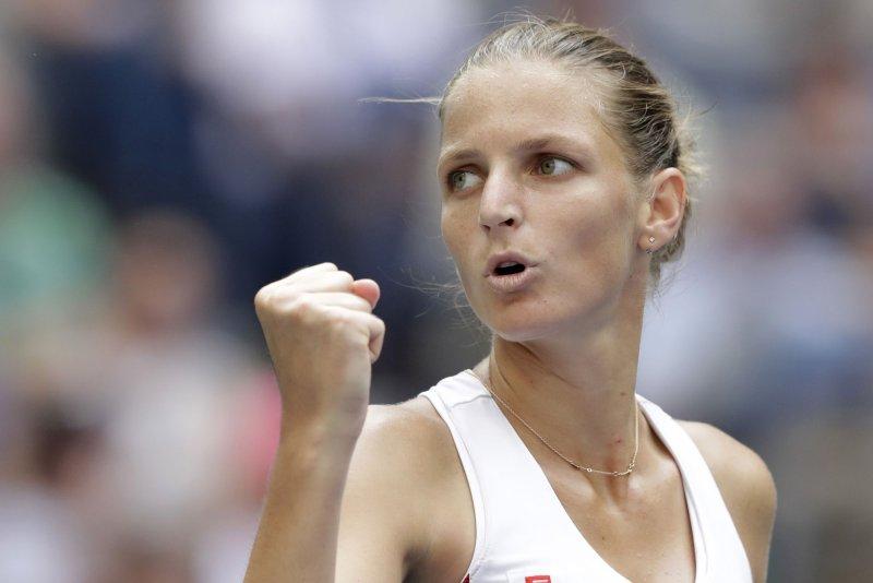 Karolina Pliskova survived a week of upsets and advanced to the finals of the Brisbane International on Friday with a 6-2, 6-4 victory over Elina Svitolina at Brisbane, Australia. File Photo by John Angelillo/UPI