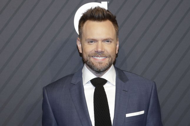 Joel McHale arrives on the red carpet at the Sports Illustrated 2017 Sportsperson of the Year Show on December 5, 2017 in New York City. File Photo by John Angelillo/UPI