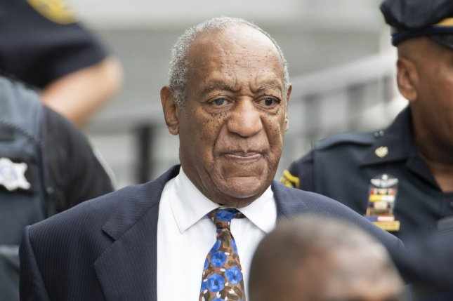 Bill Cosby said AIG settled the case without his knowledge or permission. File Photo by Chris Szagola/UPI