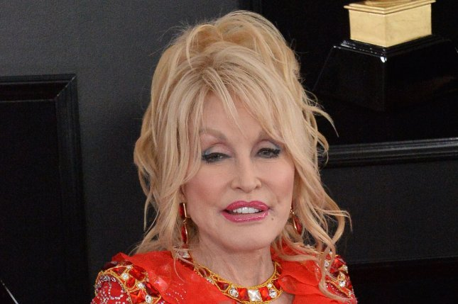 Dolly Parton announced Tuesday the release date of her new album, A Holly Dolly Christmas, on Oct. 2. File Photo by Jim Ruymen/UPI