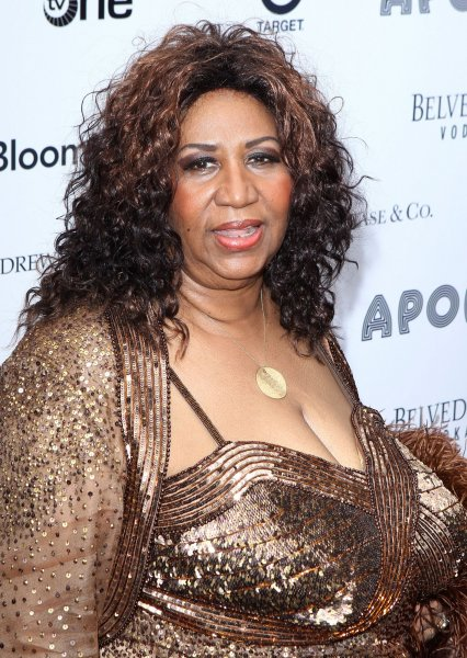 Aretha Franklin arrives at the Apollo Theater's Spring 2010 Benefit Concert and Awards Ceremony at the Apollo Theater in New York City on June 14, 2010. UPI/John Angelillo