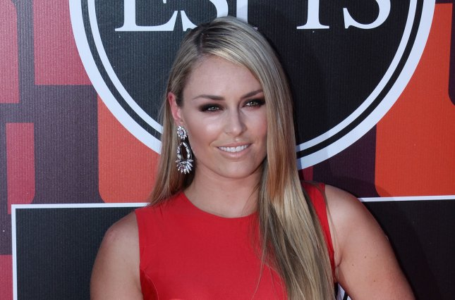 Lindsey Vonn at the ESPY Awards on July 15, 2015. The Olympic alpine ski racer appears in the 2016 Sports Illustrated swimsuit issue. File Photo by Jim Ruymen/UPI