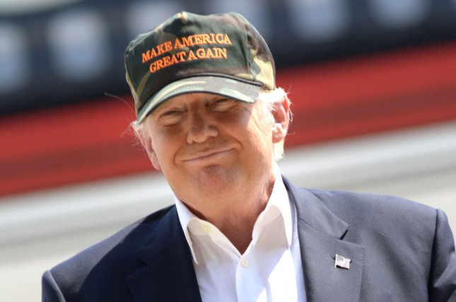 Republican candidate Donald Trump, shown here June 11 in Pittsburgh, said Friday he supports British voters who opted to leave the European Union, largely over economic concerns related to open immigration. Photo by Archie Carpenter/UPI