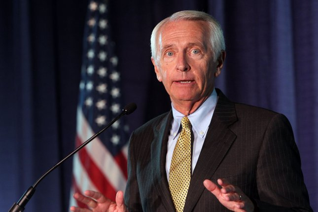 Former Kentucky Gov. Steve Beshear, pictured in 2012, gave the Democratic Party's official response to President Donald Trump's address before a joint session of Congress on Tuesday. File Photo by Bill Greenblatt/UPI