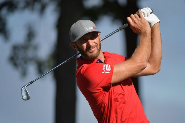 Dustin Johnson, the reigning U.S. Open champion, outlasted the 22-year-old Rahm, 1 up, at windswept Austin Country Club. But things could have been different except for about a foot's worth of putts over the match's 16 holes. File Photo by Kevin Dietsch/UPI