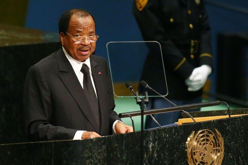 Paul Biya has served as president of Cameroon since 1982. File Photo by Monika Graff/UPI