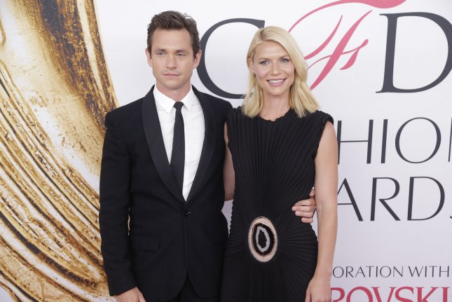 Married TV stars Hugh Dancy and Claire Danes are working together on the final season of Danes' Showtime drama Homeland. File Photo by John Angelillo/UPI