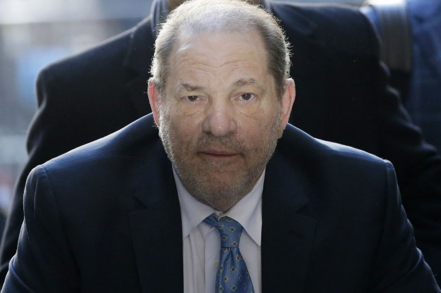A New York judge ordered that Harvey Weinstein be extradited to Los Angeles to face 11 counts of sexual assault. File Photo by John Angelillo/UPI
