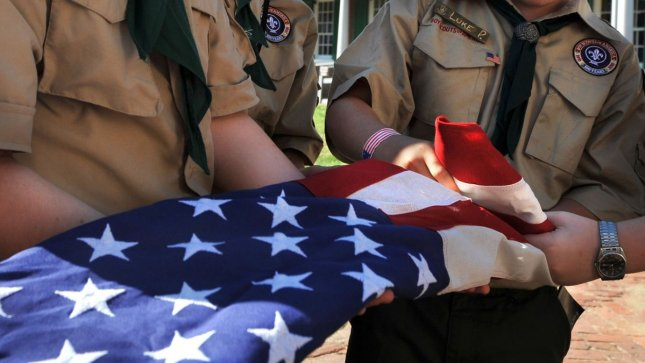 Boy Scouts from a Maryland troop in 2010. UPI File/Kevin Dietsch