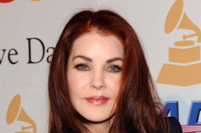 Priscilla Presley celebrated Elvis Presley's 80th birthday January 8, 2015 at Graceland in Memphis. Photo by Jim Ruymen/UPI