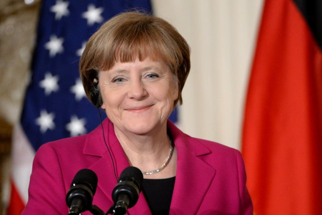 German Chancellor Angela Merkel was named Time magazine's 2015 Person of the Year. File photo by Pat Benic/UPI