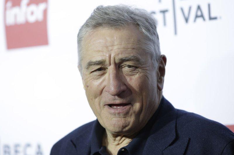 Actor Robert De Niro's movie The Irishman is set to close the London Film Festival on Oct. 13. File Photo by John Angelillo/UPI